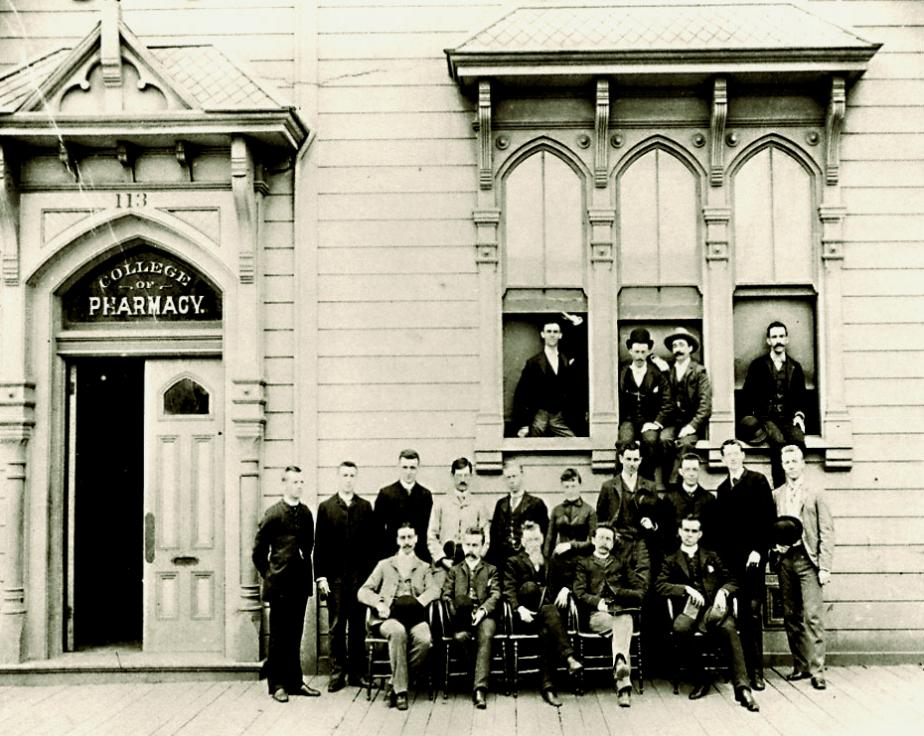 historical photo of class of 1889